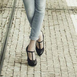 Matilda T-Strap Heels