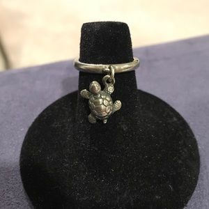 James Avery Jewelry - James Avery Turtle Dangle Charm Ring