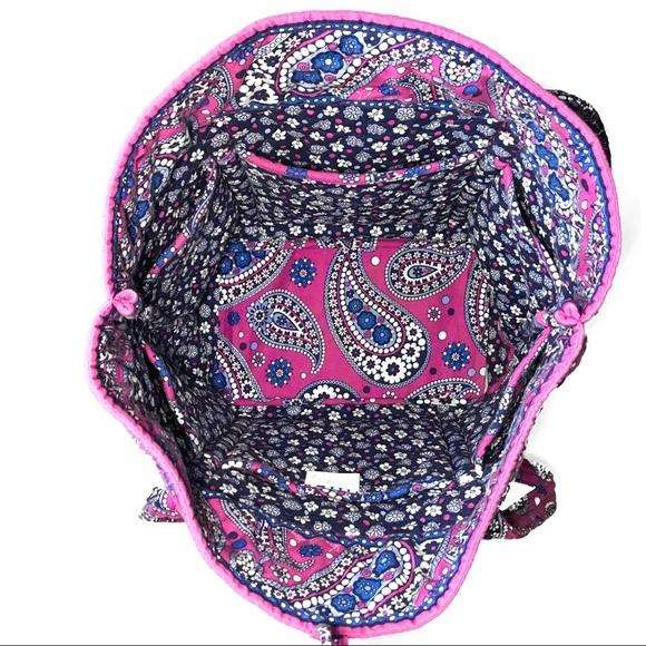 79 off vera bradley handbags vera bradley baby diaper bag pink tote wallet from wolfgang 39 s. Black Bedroom Furniture Sets. Home Design Ideas