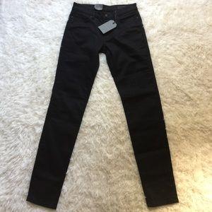 NWT [AllSaints] Mast Black Jeans - 25/27