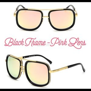 Gold Color Frame Sunglasses : 76% off Accessories - Gradual Color Lenses Metal Frame ...