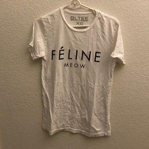Brian Lichtenberg Feline Meow Shirt