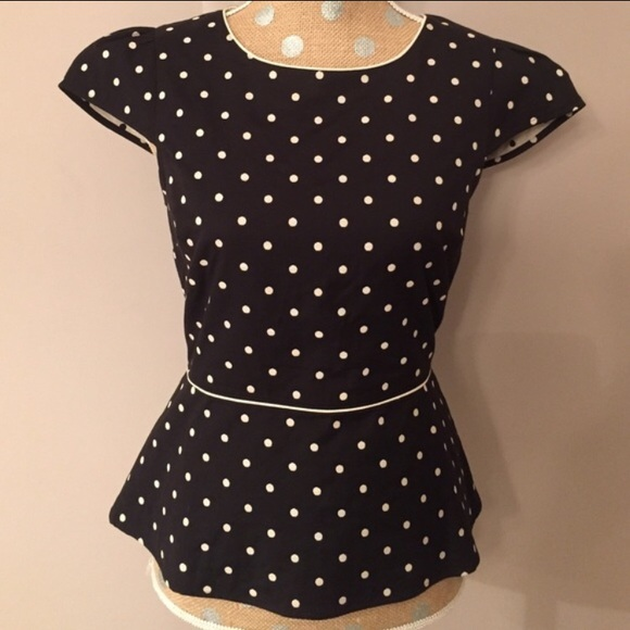 Find polka dot peplum top at ShopStyle. Shop the latest collection of polka dot peplum top from the most popular stores - all in one place.