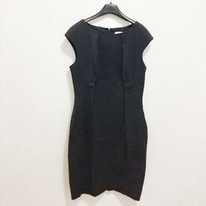 NWT- CK | Formal Charcoal Shape Dress, 6