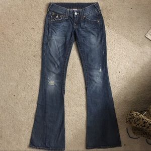 Authentic True Religion Joey Flare size 25