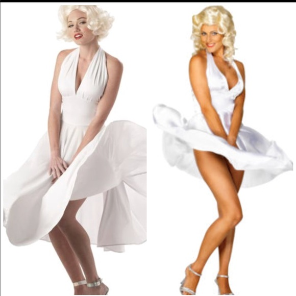 Leg Avenue Dresses Marilyn Monroe White Dress Costume Poshmark