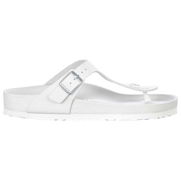 7670d0d5d772 Birkenstock Shoes - Gizeh Natural Leather Exquisite White