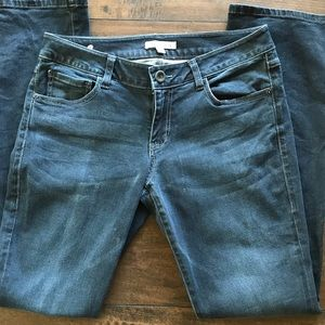CAbi Denim - CAbi Dark Denim Cotton Blend Jeans