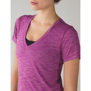 Lululemon What the Sport SS-Regal Plum, Size 8