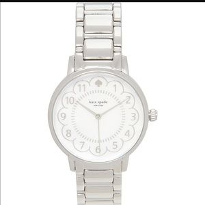 NEW! Kate Spade Scalloped Gramercy Watch