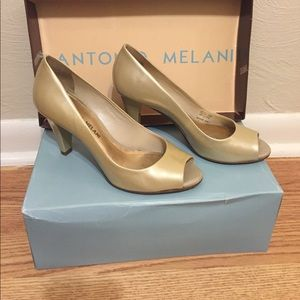 ANTONIO MELANI Shoes - ***LIKE NEW***  Peep toe pumps