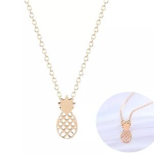 non branded Jewelry - 💕Pineapple Necklace...Brand New💕