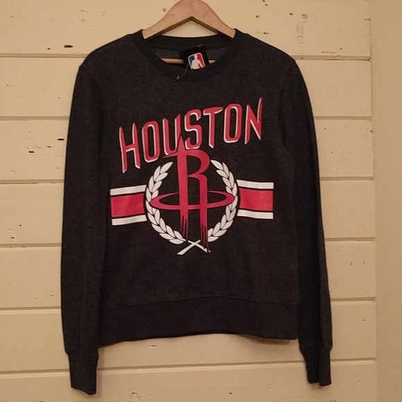 82dcf632d NWT NBA Houston Rockets grey sweatshirt