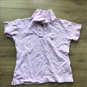 Lacoste Other - Lacoste pink polo shirt short sleeves