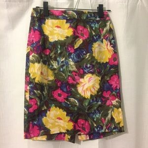 J. Crew Dresses & Skirts - J. Crew Floral Pencil Skirt
