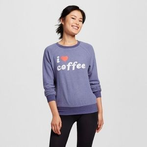 Tops - I ❤️ coffee pullover