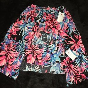Boutique Skirts - ➳ Boutique Tropical Vacation 2 Piece Skirt Set
