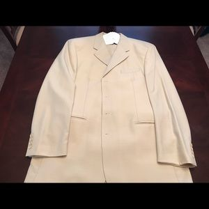 Other - Cream colored three piece suit