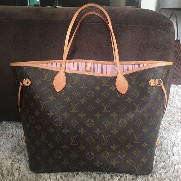 Louis Vuitton Bags   Neverfull Mm Monogram Price Firm   Poshmark 9f009e2fec