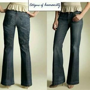 COH Dunaway #087 Stretch Low Waist Full Leg jeans