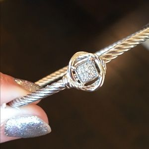 David Yurman Jewelry - David Yurman Infinity Pave Diamond Bracelet