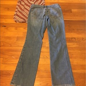 GAP Jeans - Gap Distressed boot cut jeans size 27