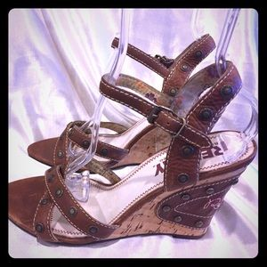 Replay Shoes - Replay Leather Sandals Size 9 beautiful details 😀