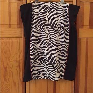 Eloquii, Plus size zebras pencil skirt