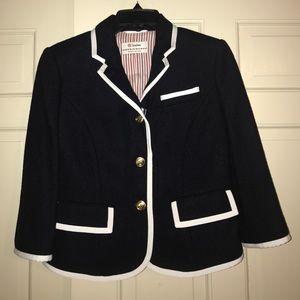 Thom Browne Jackets & Blazers - Thom Browne shrunken navy blazer