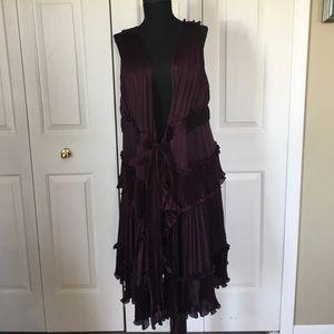 Diane von Furstenberg Dresses & Skirts - NWOT diane von furstenberg wrap around dress/vest