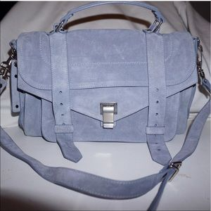 Proenza Schouler Handbags - Polar blue suede proenza Schouler ps1 medium bag