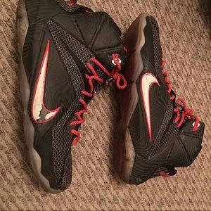 LeBron 12. LeBron shoes. Nike Basketball Shoes.