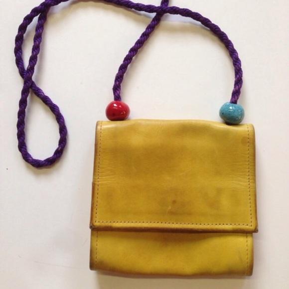 83 Off Hans Koch Handbags Vintage Hans Koch Yellow