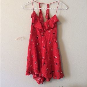 Free People Other - Backless Free People Romper
