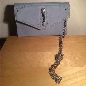 Danielle Nicole Handbags - Danielle Nicole blue crossbody leather bag