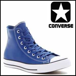 Converse Shoes - ❗️1-HOUR SALE❗️CONVERSE LEATHER HIGH TOPS SNEAKERS
