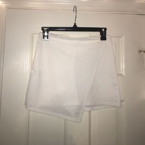 White missguided skort