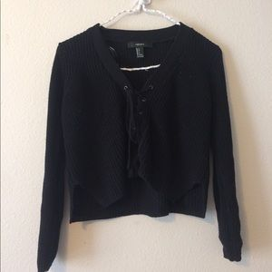 Forever 21 Tops - F21 Tie up Sweater
