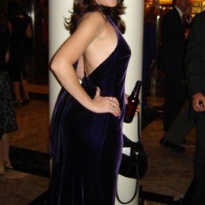 Ralph Lauren purple velvet dress size 8