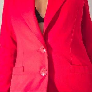 Stirling Cooper Jackets & Coats - Vintage 80's Stirling Cooper long red blazer.