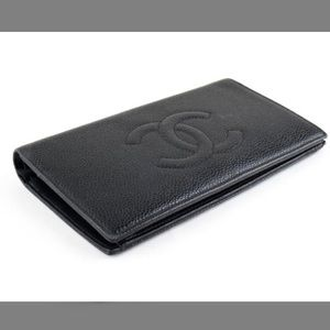 CHANEL Handbags - Authentic Chanel Caviar Leather wallet