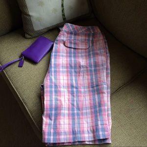 Cutter & Buck Pants - Women's Cutter & buck plaid golf shorts Size 16