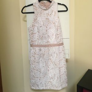 English Factory white lace dress