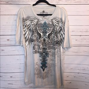 helix Other - Men's SS t-shirt. Helix XXL Silver