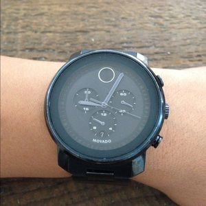 Movado Other - Movado Bold, Navy Blue, chronograph watch