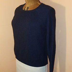 J. Crew Sweaters - J.Crew Merino wool blend navy sweater