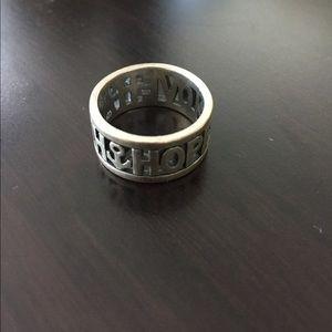 James Avery Jewelry - James Avery Hope Love Faith Ring Size 7