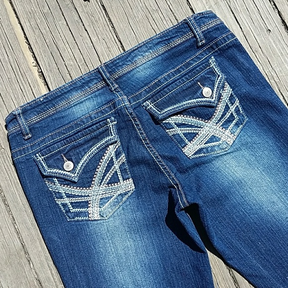 Rue 21 Rue 21 Slim Boot Jeans Size 9 10 From Santa Fe