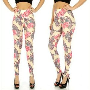 Pants - Gorgeous Floral Leggings