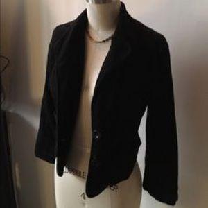 Jackets & Blazers - Sashimi black, fitted blazer with stretch